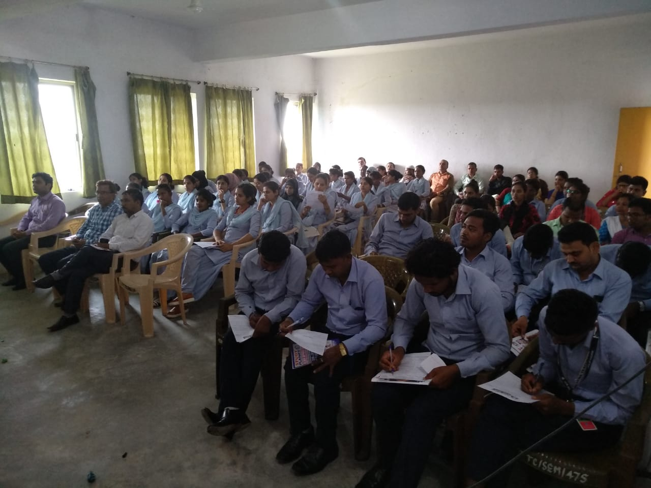 Seminar at FATMA B.ED College